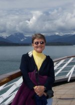 Marita at Glacier Bay